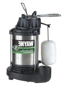 Wayne CDU980E 34 HP Submersible Cast Iron and Stainless Steel Sump Pump