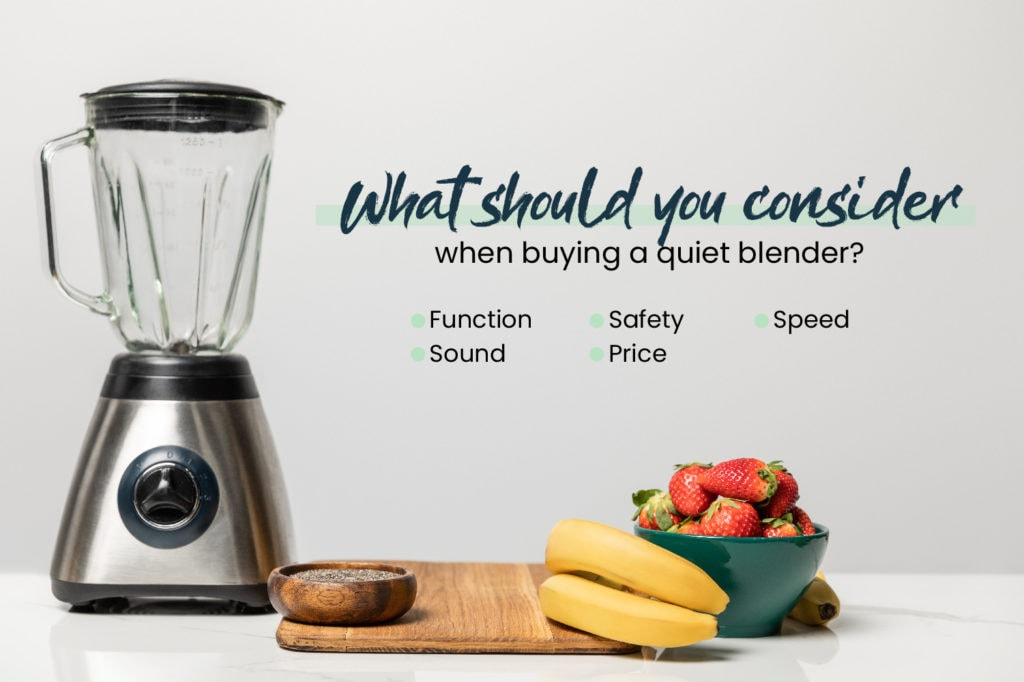 What You Should Consider - Blender with Fruits