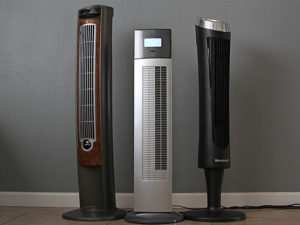 Silent Home Hub Quiet Tower Fan