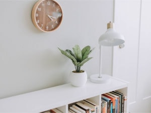 Silent Home Hub Silent Wall Clock