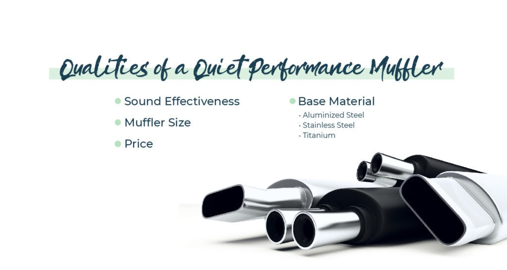 Qualities of a Quiet Performance Muffler