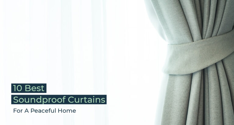 Silent Home Hub Soundproof Curtains