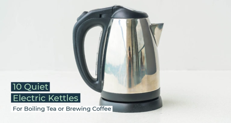 Silent Home Hub Quiet Electric Kettle
