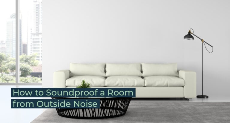 Silent Home Hub How to Soundproof a Room from Outside Noise