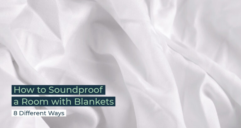 Silent Home Hub How To Soundproof A Room With Blankets