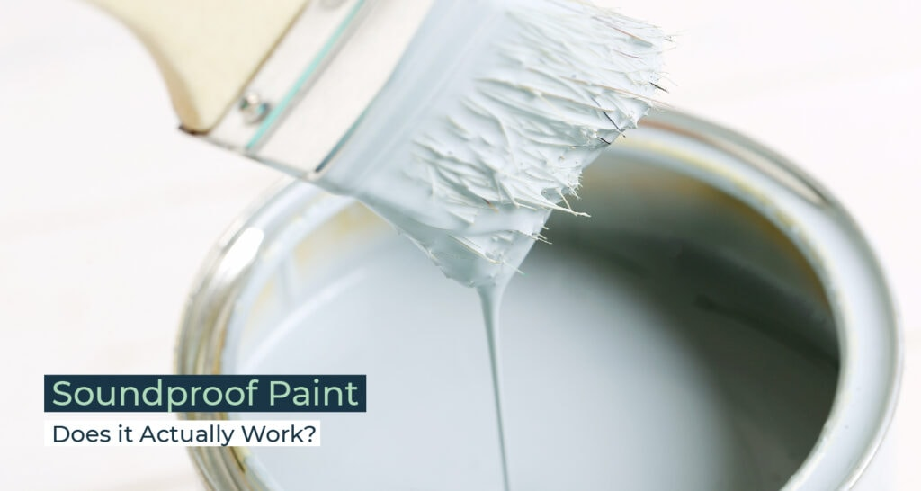 Silent Home Hub Soundproof Paint