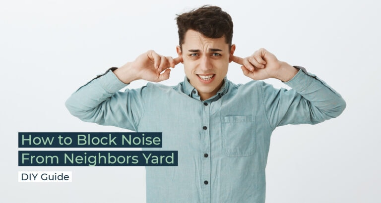 Silent Home Hub How to Block Noise From Neighbors Yard