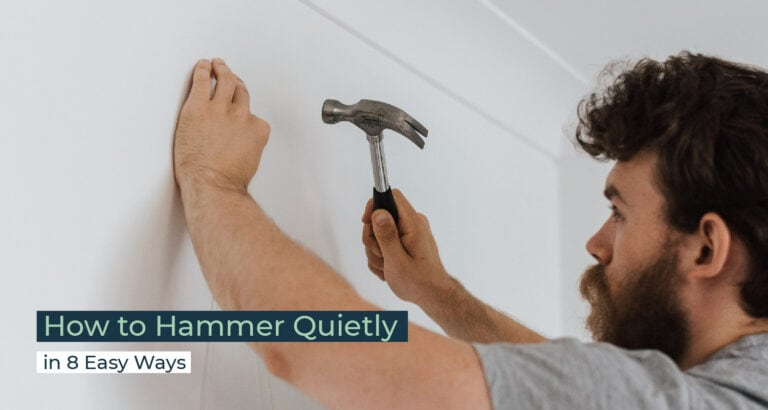 Silent Home Hub How to Hammer Quietly