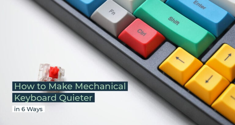 Silent Home Hub How to Make Mechanical Keyboard Quieter