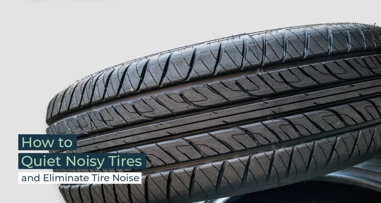 Silent Home Hub How to Quiet Noisy Tires
