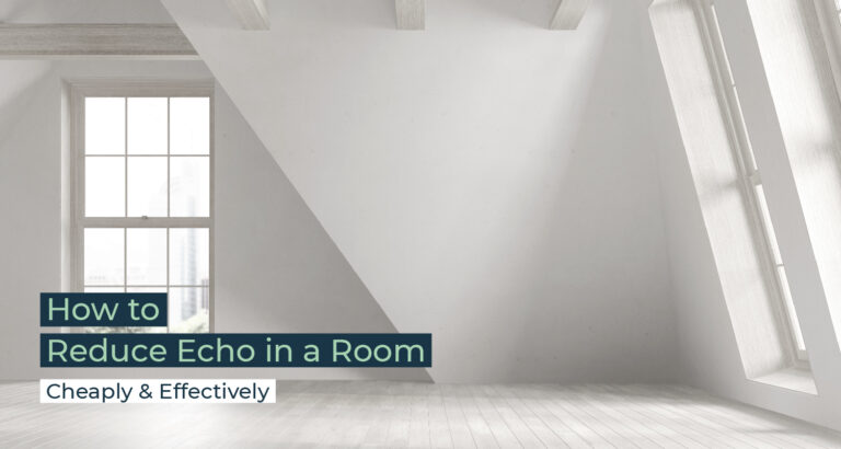 Silent Home Hub How to Reduce Echo in a Room