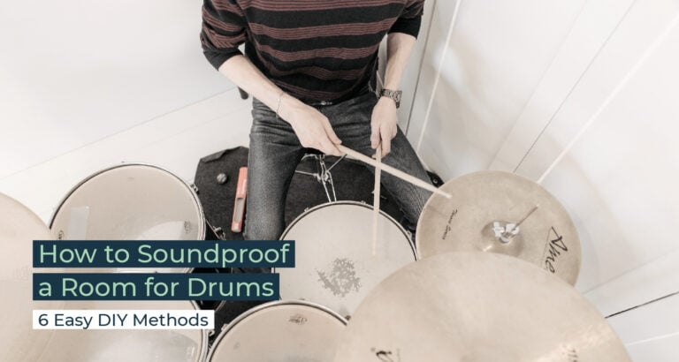 Silent Home Hub How to Soundproof a Room for Drums