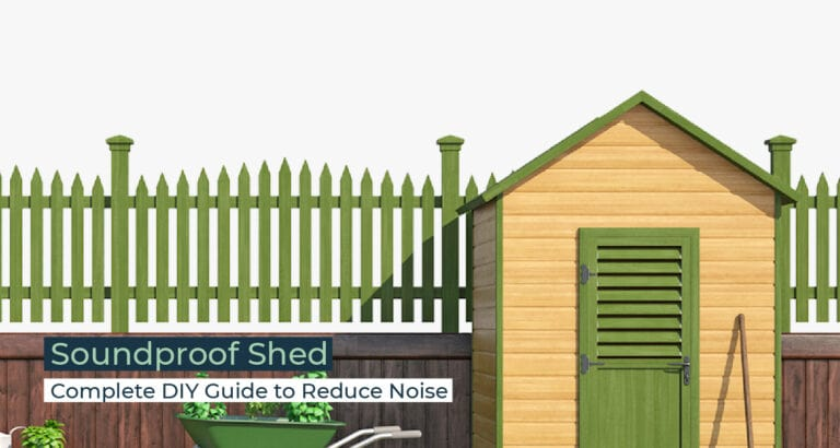Silent Home Hub Soundproof Shed