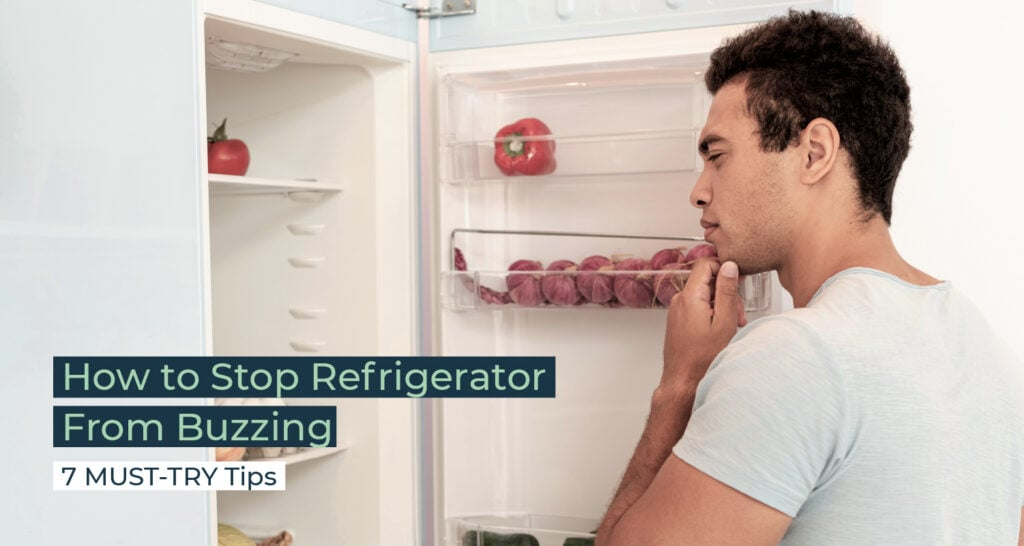 Silent Home Hub How to Stop Refrigerator From Buzzing