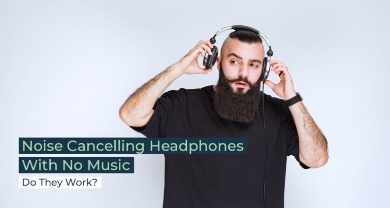 Silent Home Hub Noise Cancelling Headphones No Music