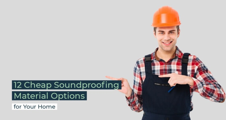 Silent Home Hub Cheap Soundproofing Material