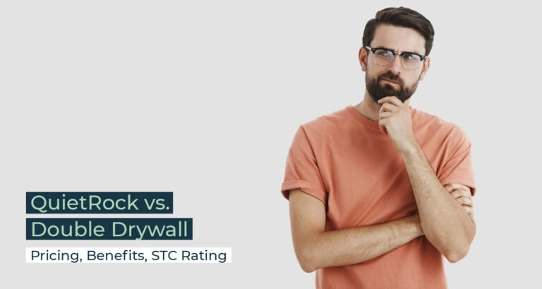 Silent Home Hub Quietrock vs Double Drywall