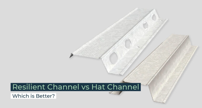 Silent Home Hub Resilient Channel vs Hat Channel