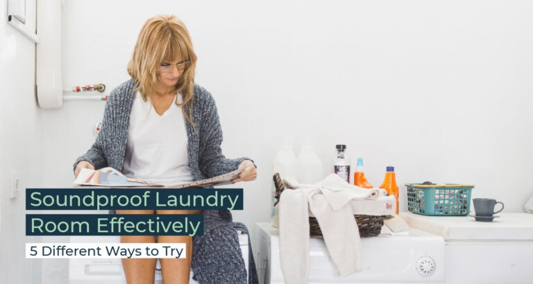 Silent Home Hub Soundproof Laundry Room Effectively