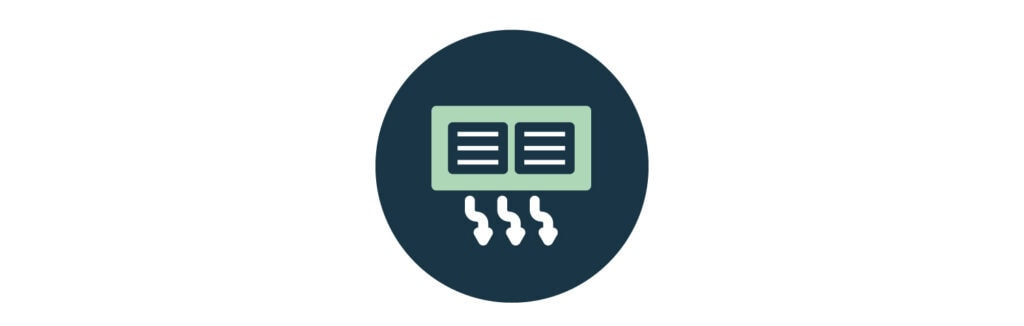 Ducts and Vents Icon