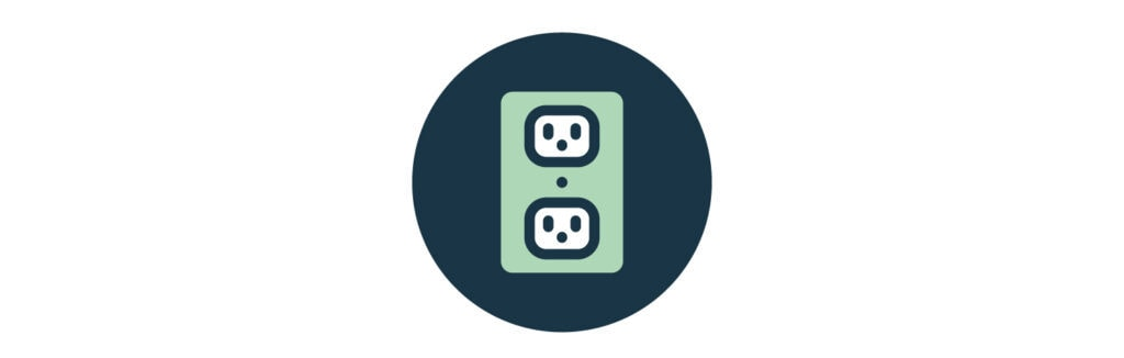 Electrical Outlets Icon