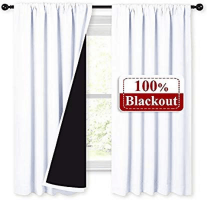 Nicetown Thermal Insulated Blackout Lined Curtains